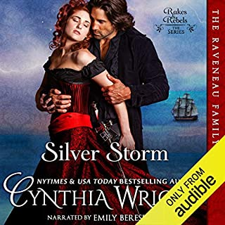 Silver Storm audiobook cover art