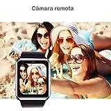 Willful Smartwatch, Reloj Inteligente Android con Ranura para Tarjeta SIM,Pulsera Actividad Inteligente para Deporte, Reloj Iinteligente Hombre Mujer, Reloj de Fitness con Podómetro Cronómetros