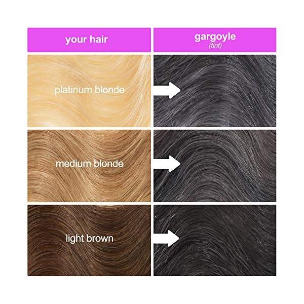 Lime Crime Unicorn Hair Tint, Gargoyle - Deep Stone Grey Fantasy Hair Color - Ultra-Conditioning, Semi-Permanent, Damage… 8