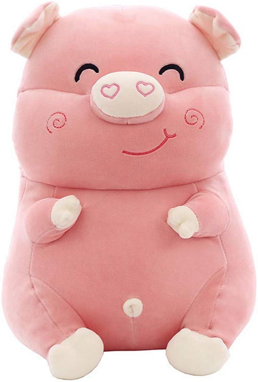 LAIBAERDAN Plush Toys And Soft Dolls Birthday Gift Plush Pig Doll Girl Pillow 30405060Cm, 50Cm