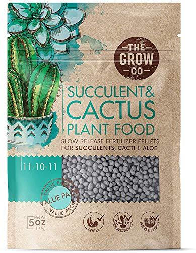 Succulents & Cactus Plant Food - Gentle Long Lasting Formula, Slow Release Fertilizer...