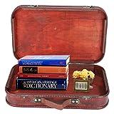 Maleta retro, maleta retro de gran capacidad Caja de madera vintage antigua Bolsa de equipaje de mano Estudio...