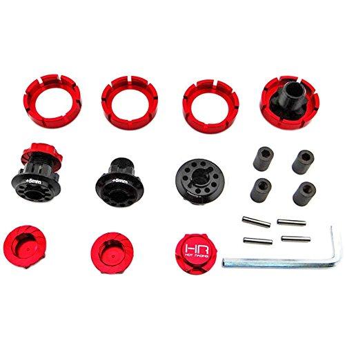 Hot Racing yex10X 0217mm Hub 3,8Raceline Hub w Wellenschliff Muttern–Yeti XL RTR