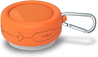 Xoopar Splash Wireless Bluetooth Speaker with Powerful HD Sound and Deep Bass (Orange)
