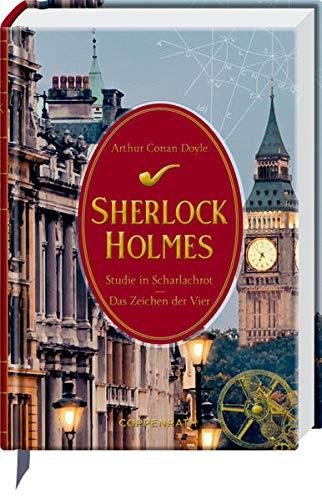 Sherlock Holmes Bd. 1: Eine Studie in Scharlachrot / Das Zeichen der Vier (Schmuckausgabe)
