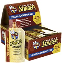 Ginsting Energy Gel 24/1.2 Ounce (34 g) Packets