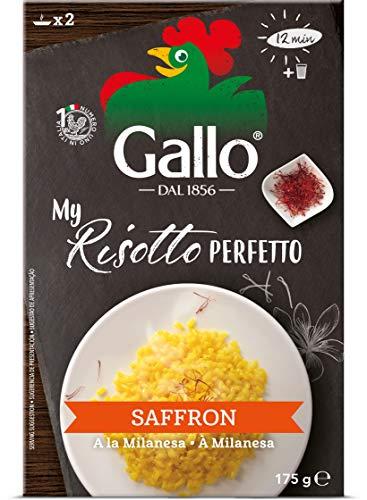 Riso Gallo Risotto Pronto Safran 175G - Packung mit 6