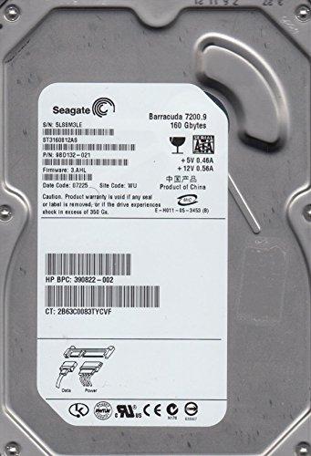ST3160812AS, 5LS, WU, PN 9BD132-021, FW 3.AHL, Seagate 160GB SATA 3.5 dysk twardy