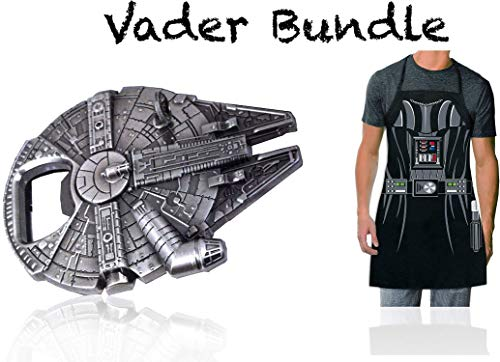 (50% OFF) Bundle Millennium Falcon & Darth Vader Apron $14.95 Deal