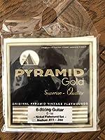 PYRAMID GOLD ピラミッド フラットワウンド 弦 エレキギター ビートルズ ジョンレノン リッケンバッカーショートスケール コレクション