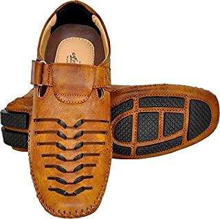 Lee Fox Shoes for Men Casual Loafer LFROM TAN