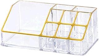 Sinwo Cosmetic Storage Display Rack Acrylic Lipstick Display Stand Case Makeup Brush Holder Organizer (B)