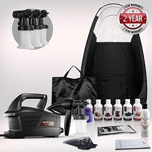 Maximist Evolution TNT 'MEGA' Spray Tanning Kit + Tent, Solutions & Much More!