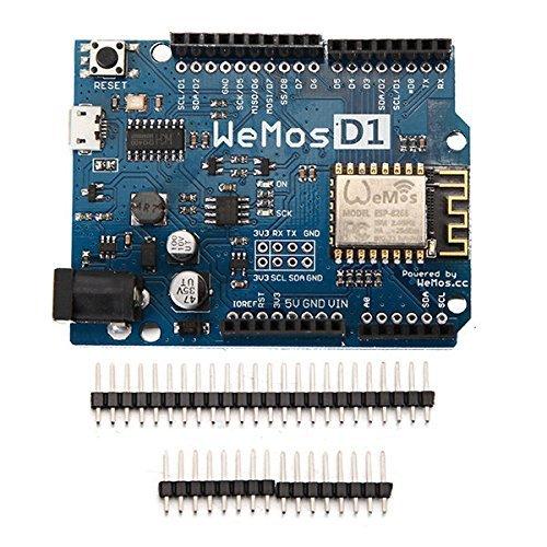 ARCELI Programme Arduino UNO Compatible avec la Carte de développement WeMos D1 R2 WiFi ESP8266 de Arduino IDE