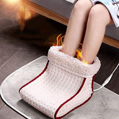 YTFR Calentador de pies,Calentador de pies de Polar cómodo con calefacción eléctrica,Calentador...