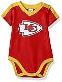 NFL Kansas City Chiefs Unisex-Baby Dazzle Bodysuit, Red, 3-6 Months