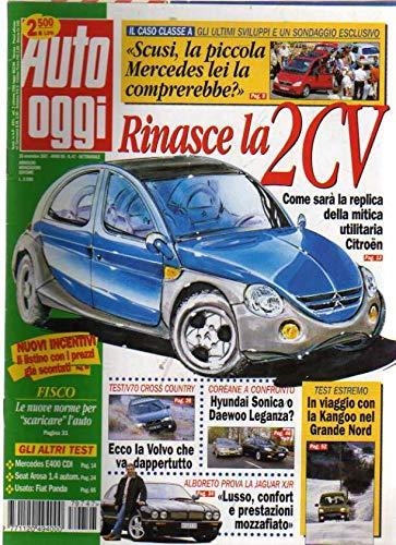 Auto Oggi 47 del Novembre 1997 Mercedes E400, Seat Arosa, Volvo V70