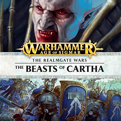 The Beasts of Cartha     Age of Sigmar: Knights of Vengeance, Book 1              Autor:                                                                                                                                 David Guymer                               Sprecher:                                                                                                                                 Gareth Armstrong,                                                                                        John Banks,                                                                                        Jonathan Keeble,                   und andere                 Spieldauer: 1 Std. und 13 Min.     Noch nicht bewertet     Gesamt 0,0