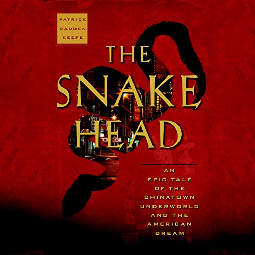 The Snakehead audiobook cover art