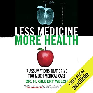 Less Medicine, More Health audiobook cover art