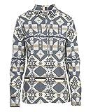 Woolrich Women's Keystone Printed Chaomis Shirt, Dark Ash, Medium