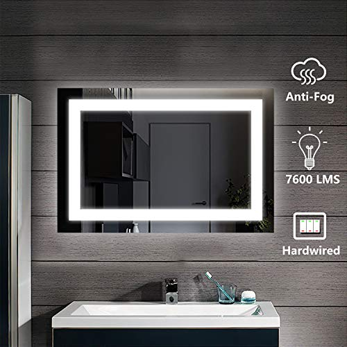 D'amour Lighted Bathroom Wall Mounted Led Mirror