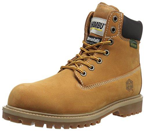 Khombu Men's Hank Snow Boot, Wheat, 10 M US