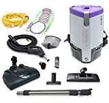 Proteam Super CoachPro 6 Commercial Backpack Vacuum w/Wessel Werk Head