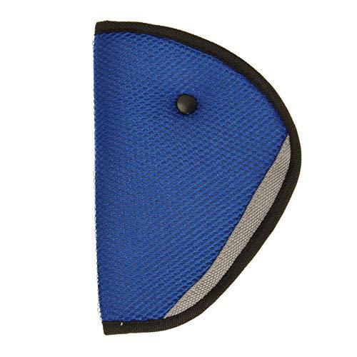 Takestop zweetband driehoekige hoofdband blauw voor kinder-veiligheidsgordel kinderwagen autostoel baby pasgeborenen zitpositie comfortabele slaap