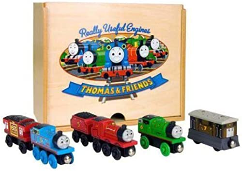 Envío y cambio gratis. Thomas & Friends Wooden Railway Anniversary Gift Pack Pack Pack by Thomas & Friends  bienvenido a comprar