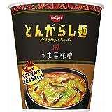 とんがらし麺 うま辛味噌 75g ×12食