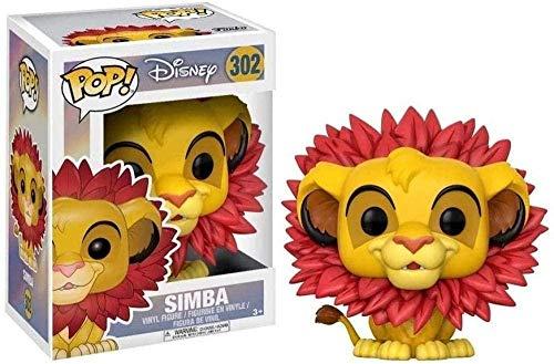 WENJZJ Pop: The Lion King Simba-Blade Mane Figura da Collezione Cartoon Chibi Gifts