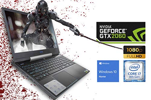 "Dell G5 5590 (G5590-7797BLK) Gaming Laptop, 15.6"" FHD Display, Intel Core i7-9750H Upto 4.5GHz, 16GB RAM, 512GB NVMe SSD, NVIDIA GeForce RTX 2060, HDMI, Mini DP, Thunderbolt, Wi-Fi, BT, Windows 10Home"
