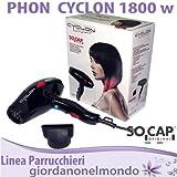 Secador profesional secador pelo para peluquería 1800W socap Original Cyclon