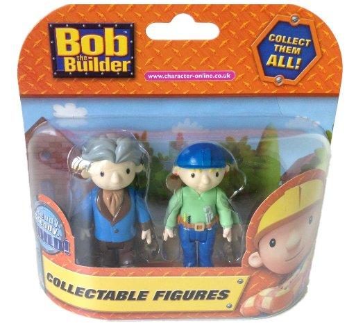 Bob le constructeur - Pack de 2 figurines articulées -