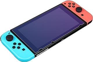 BUBM 必优美 任天堂Nintendo Switch钢化玻璃膜 NS?#20048;?#32441;switch保护贴膜高清护眼钢化膜 (两片装)