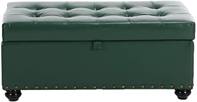 Prime Amazon Com Footstools Yxx Large Storage Ottoman Bench Seat Creativecarmelina Interior Chair Design Creativecarmelinacom