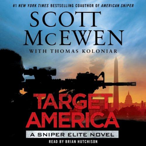 Target America audiobook cover art