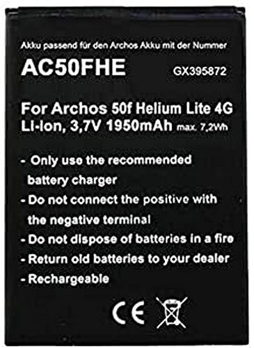 Akku nur passend für den Archos AC50FHE Akku AC50FHELI Archos 50f Helium Lite 4G, GX395872