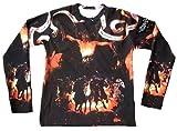En Nomine Patre B4088–Camiseta de Negro Amarillo Teufel Devil Lucifer hölle claro 4Jinete del Apocalipsis negro 58