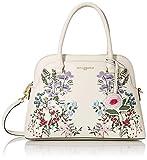 Karl Lagerfeld Paris Penelope Dome Satchel Handbag, Floral White