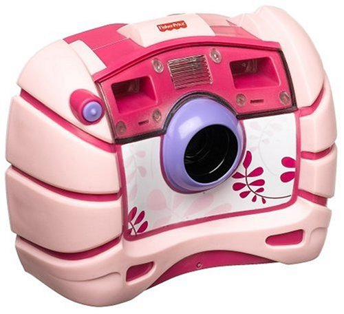 Mattel - Fisher Price M8072 - Wasserdichte Digitalkamera, rosa