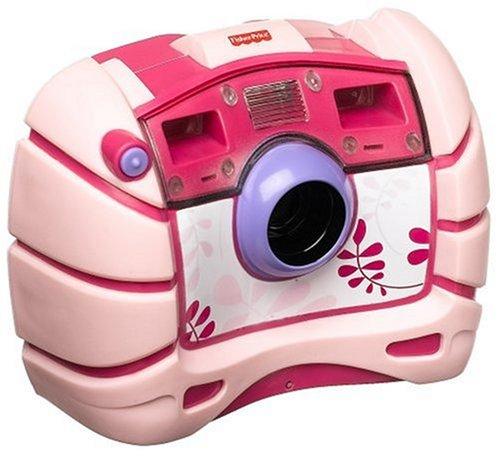 Mattel - Fisher Price M8072 - Wasserdichte Digitalkamera, rosa