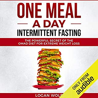 One Meal a Day Intermittent Fasting audiobook cover art