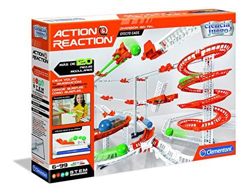 Clementoni Ciencia y Juego- Action & Reaction Efecto Caos Juego, Multicolor (55377)