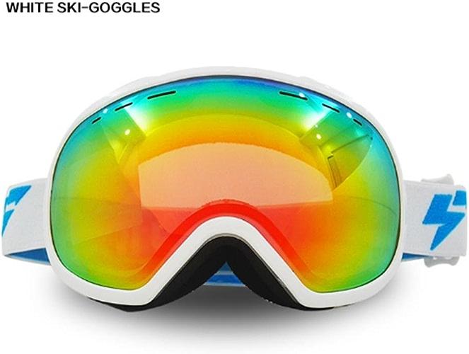 LZH Double anti-brouillard Big Spherical Windproof Ski Goggles PC