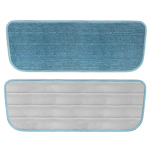 Refil microfibra Azul para Mop Spray Flash Limp, RMOP7800-AZ, Flash Limp