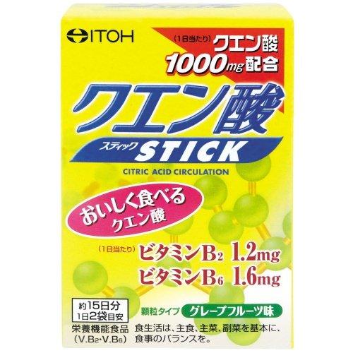 井藤漢方製薬クエン酸スティック約15日分2gX30袋