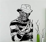 etiqueta de la pared decoración Freddy Krueger Pesadilla en Elm Street Póster de la película de...