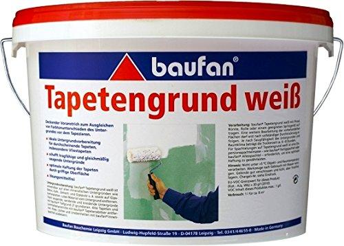 Baufan Tapetengrund weiss 10 Liter